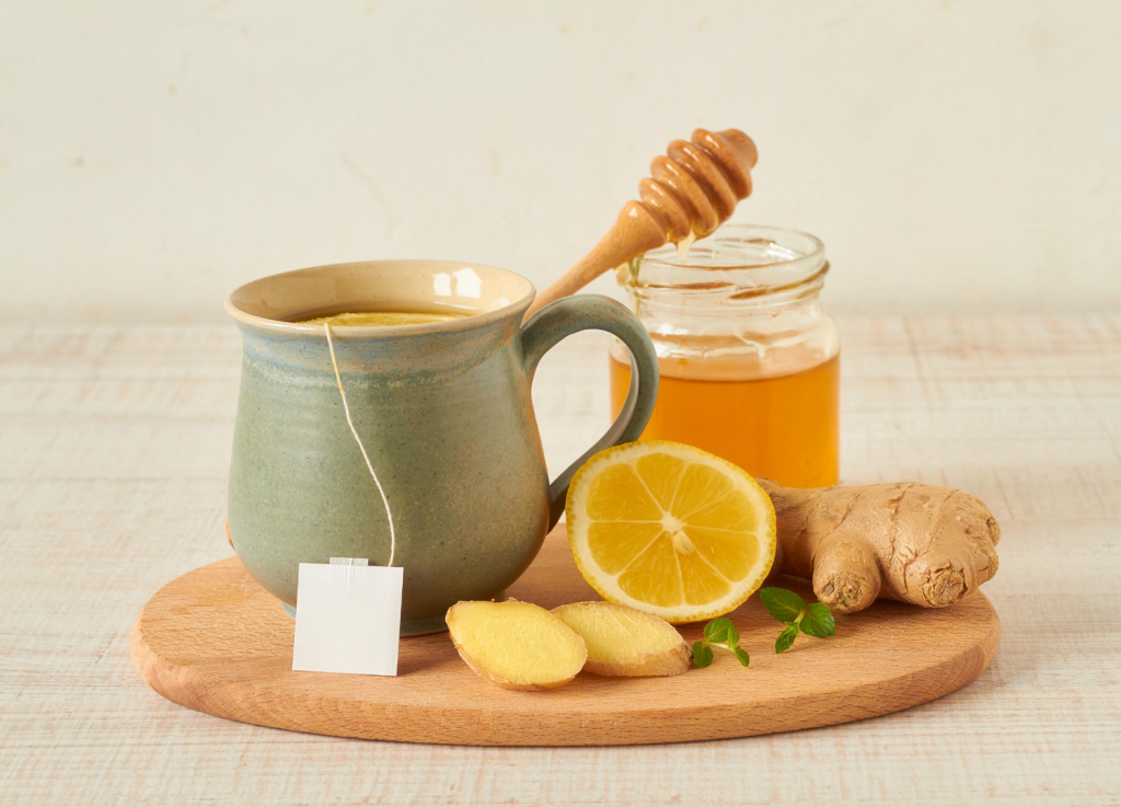 Warming foods when pregnant - ginger tea